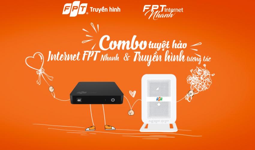 Khuyến mại cực shock tháng 03 dành cho Khách hàng đăng ký Internet FPT + Truyền hình FPT + FPT Camera